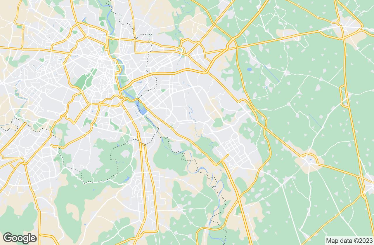 Google Map of Noida