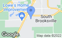 Map of Brooksville, FL