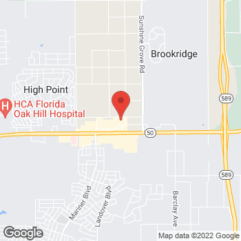 Map of Bed Bath & Beyond at 7187 Coastal Blvd, Brooksville, FL 34613