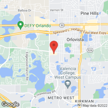 Map of Check `n Go at 6576 Old Winter Garden Rd., Orlando, FL 32835