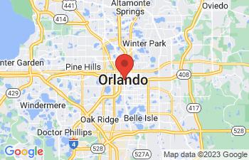 Map of Orlando