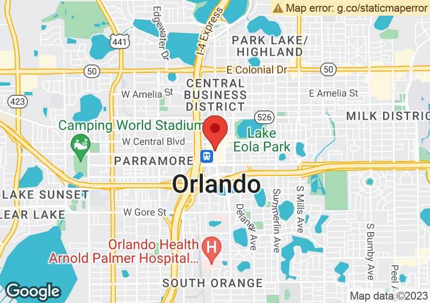 Google Map of 190 S ORANGE AVE