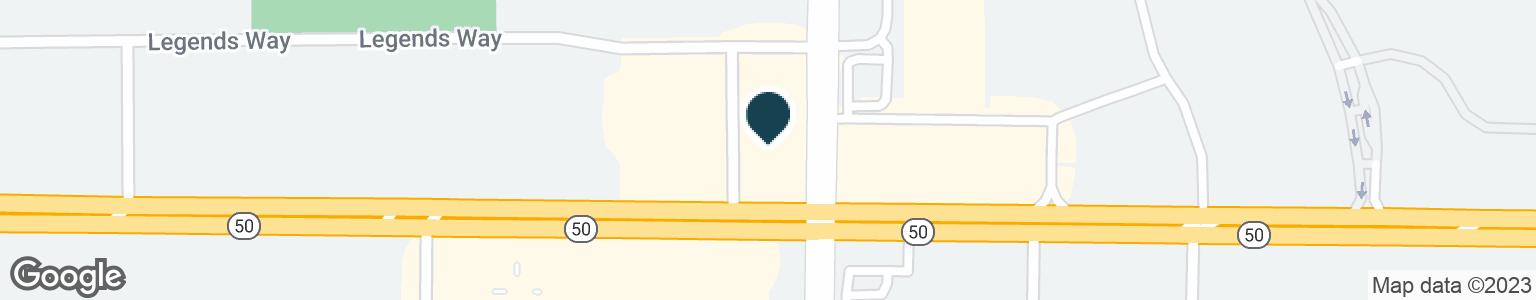 Google Map of2590 E HIGHWAY 50