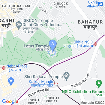 Location of Bahai Temple