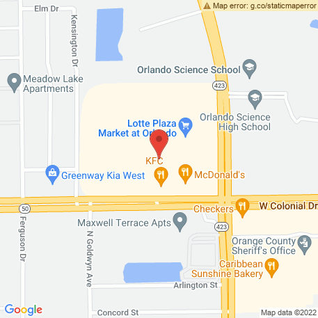 Florida State of - Probation & Parole Offices, Orlando, Orlando Central/Community Control Office on Map (3201 W Colonial Dr, Orlando, FL 32808) Map