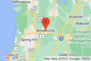 Map of Brooksville
