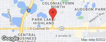 Map of 901 N Mills Ave in Orlando