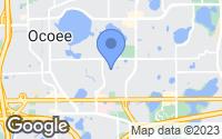 Map of Ocoee, FL