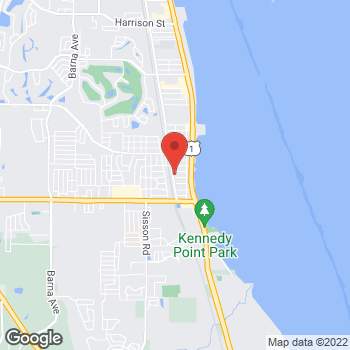 Map of Joseph Asch, MD at 4401 South Hopkins Avenue, Titusville, FL 32780