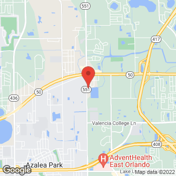 Map of Total Wireless Store at 1461 N Goldenrod Rd, Orlando, FL 32807