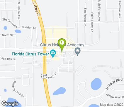 Map of 235 Citrus Tower Blvd in Clermont