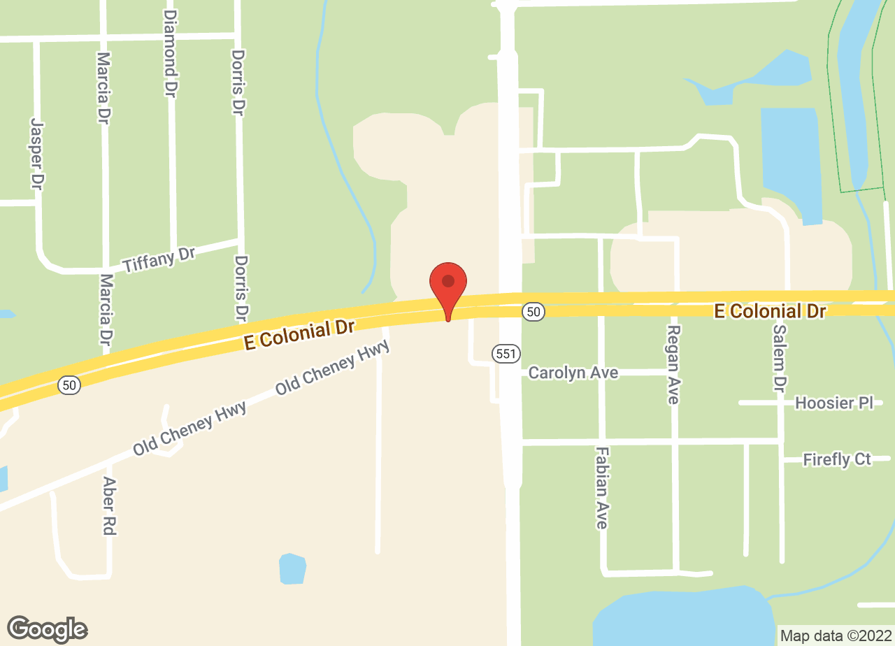 Google Map of VCA East Colonial Animal Hospital