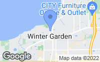 Map of Winter Garden, FL