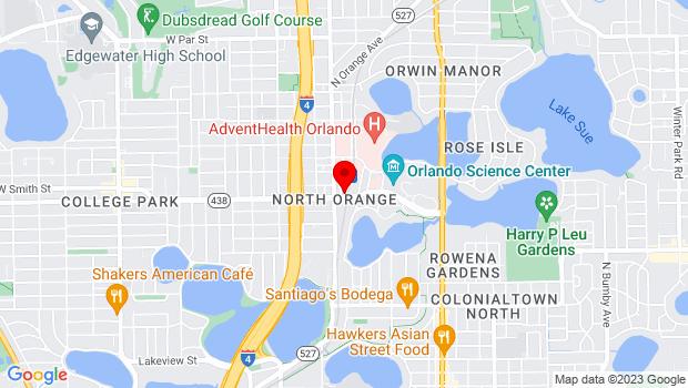 Google Map of 2201 McRae Ave, Orlando, FL 32803