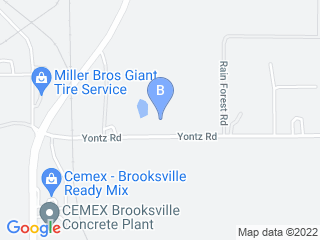 Map of 2 Brothers Kennel Dog Boarding options in Brooksville | Boarding