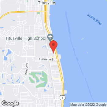 Map of Tuesday Morning at 2420 S Washington Ave, Titusville, FL 32780