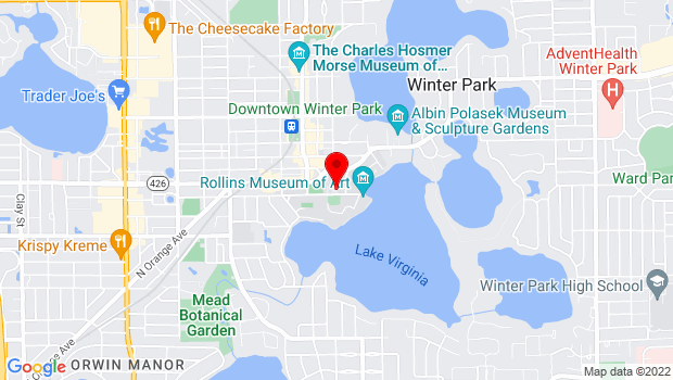 Google Map of 1000 Holt Ave, Winter Park, FL 32789