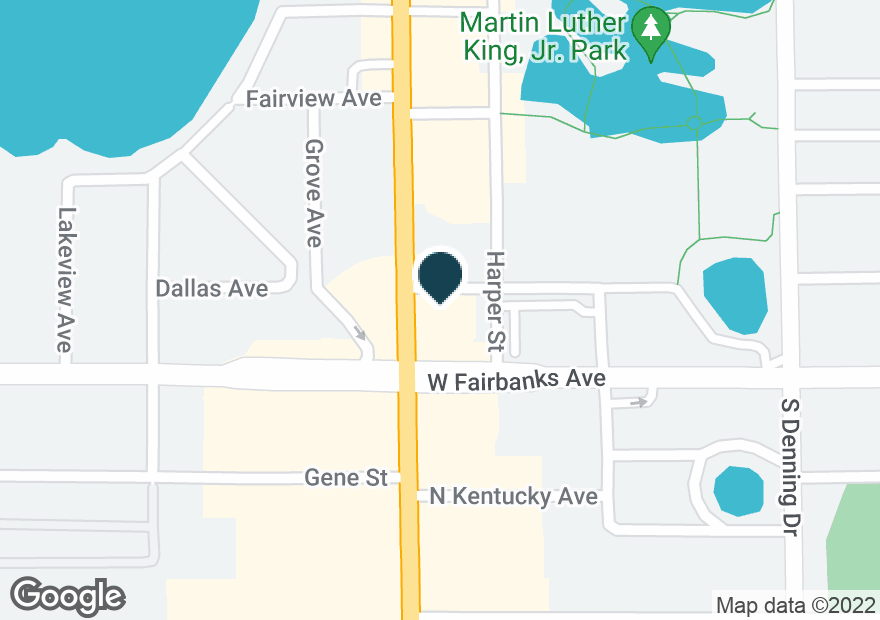 Google Map of550 S ORLANDO AVE
