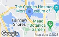 Map of Winter Park, FL