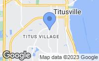 Map of Titusville, FL