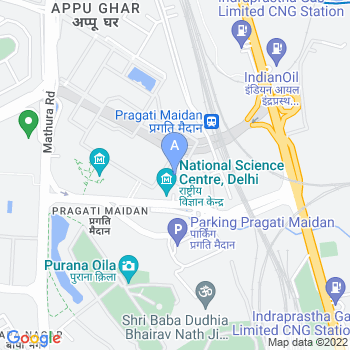 Location of National Science Center