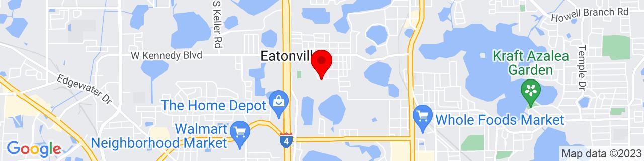 Google Map of 28.61472, -81.38062