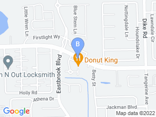 Map of A Little Pet Inn Dog Boarding options in Winter Park | Boarding