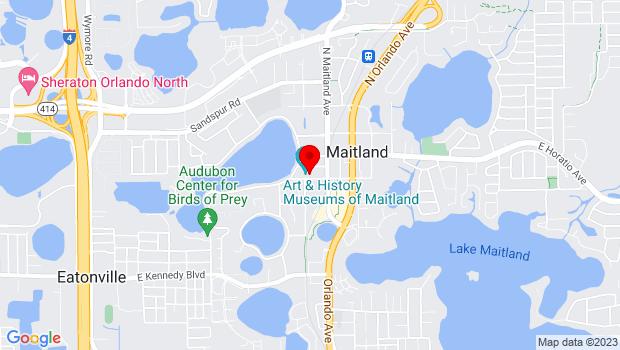 Google Map of 231 West Packwood Avenue, Maitland, FL 32751