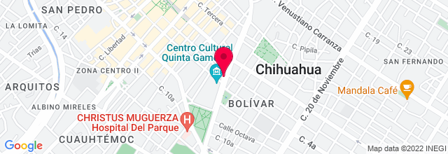 Map for Club Bolívar