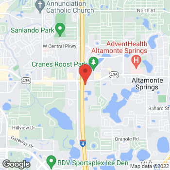 Map of buybuy BABY at 130 East Altamonte Drive, Altamonte Springs, FL 32701