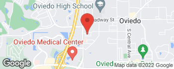 Map of 870 Clark St in Oviedo