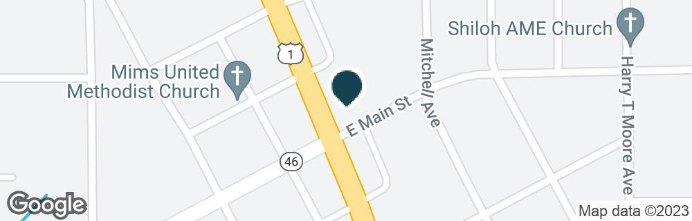 Google Map of2475 US HIGHWAY 1