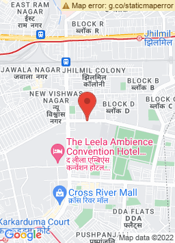 Google Map of The Leela Ambience Convention Hotel, Delhi