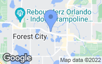 Map of Forest City, FL