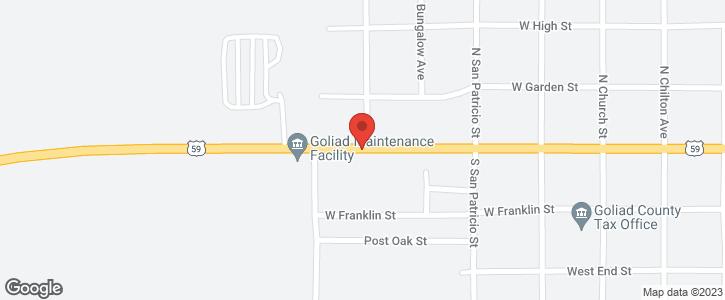 740 W Pearl St. Goliad TX 77963
