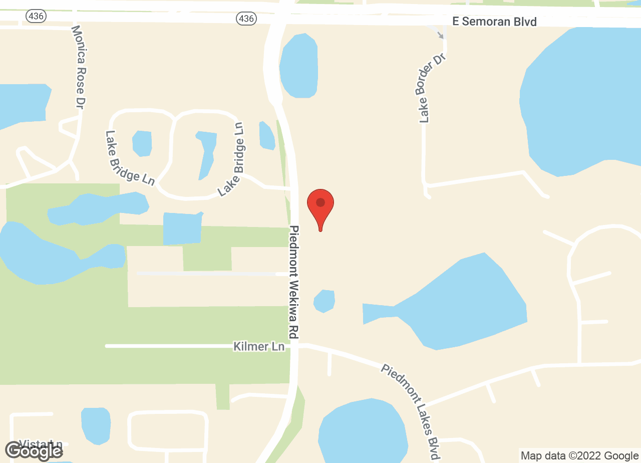 Google Map of VCA Piedmont Animal Hospital