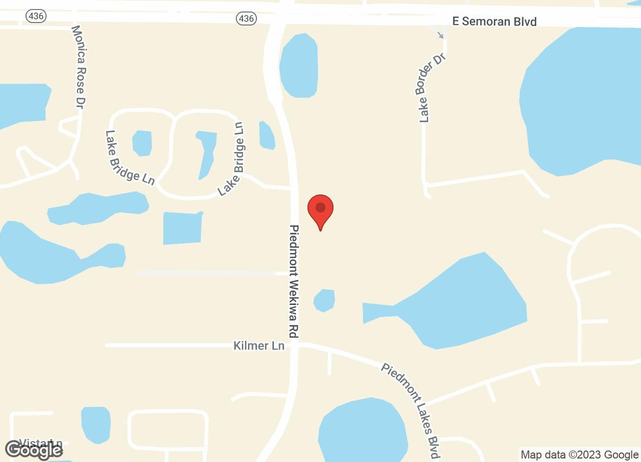 Google Map of VCA Piedmont Animal Hospital