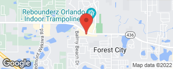 Map of 3060 State Road 436 in Apopka