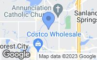 Map of Altamonte Springs, FL