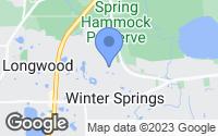 Map of Winter Springs, FL