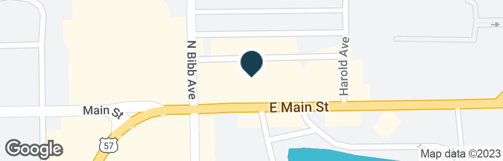 Google Map of2341 EAST MAIN