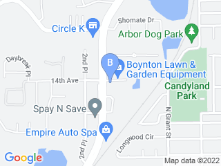 Map of Preppy Pet Longwood Dog Boarding options in Longwood | Boarding