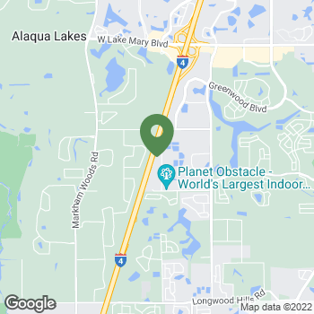 Map of Terminix at 55 Skyline Drive, Orlando, FL 32822