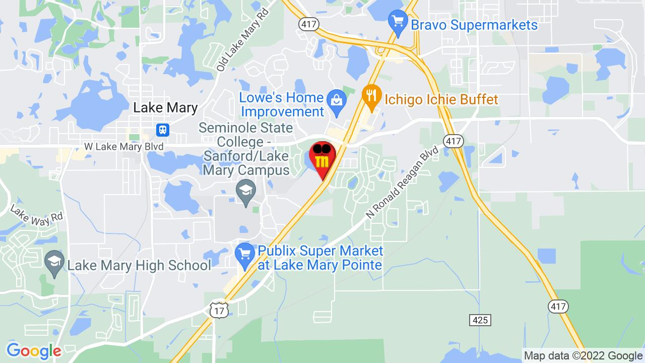 Google Map of Lake Mary Pest Control