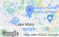 Map of Lake Mary, FL