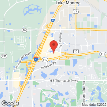 Map of Panera Bread at 1457 WP Ball Blvd, Sanford, FL 32771