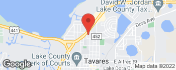 Map of 1102 N Joanna Ave in Tavares