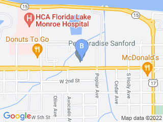 Map of Pet Paradise Resort Sanford Dog Boarding options in Sanford | Boarding