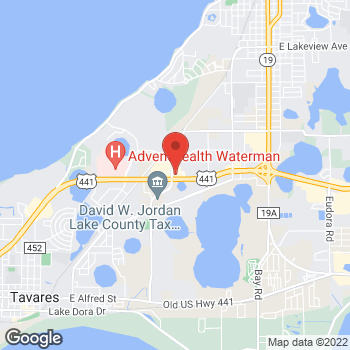 Map of Hair Cuttery at 15441 Us Highway 441, Eustis, FL 32726