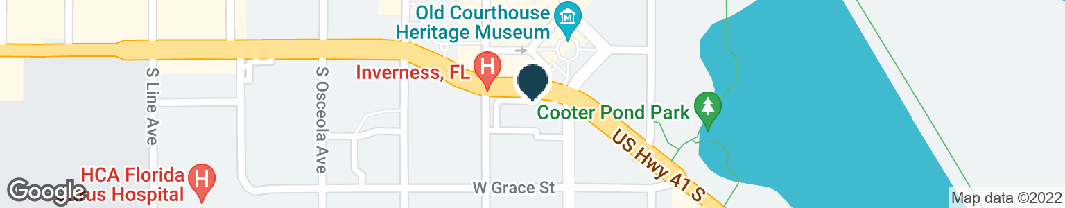 Google Map of104 S APOPKA AVE